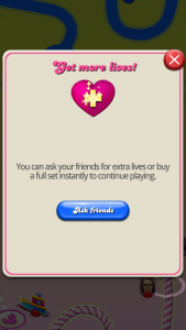 More lives Candy Crush